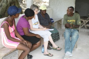 Working with Women's Groups to Care for Women, Children & Elderly